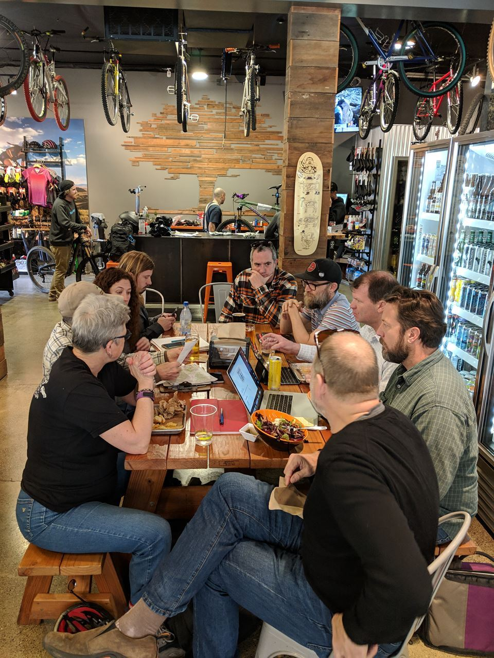 REMBA Advocacy Lunch at Trailhouse